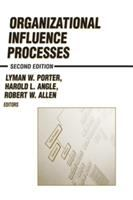 Organizational influence processes