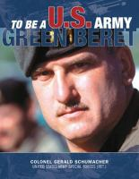 To be a U.S. Army Green Beret