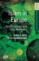 Islam in Europe : public spaces and civic networks