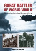 Great battles of World War II : major operations that affected the course of the war