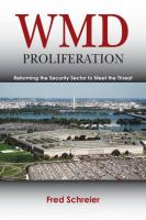 WMD proliferation : reforming the security sector to meet the threat